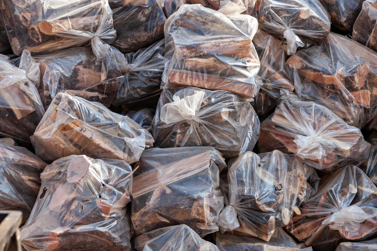 Vente de Bois de chauffage big bag dans l'Aude