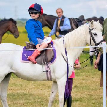 Le Garrigal, cours d'équitation à Sainte-Camelle